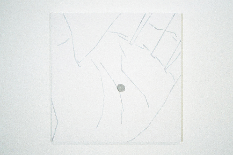 SEED, painting in the art installation, FAITH AND DOUBT, at Gallery, by Vancouver artist and designer Kennedy Telford