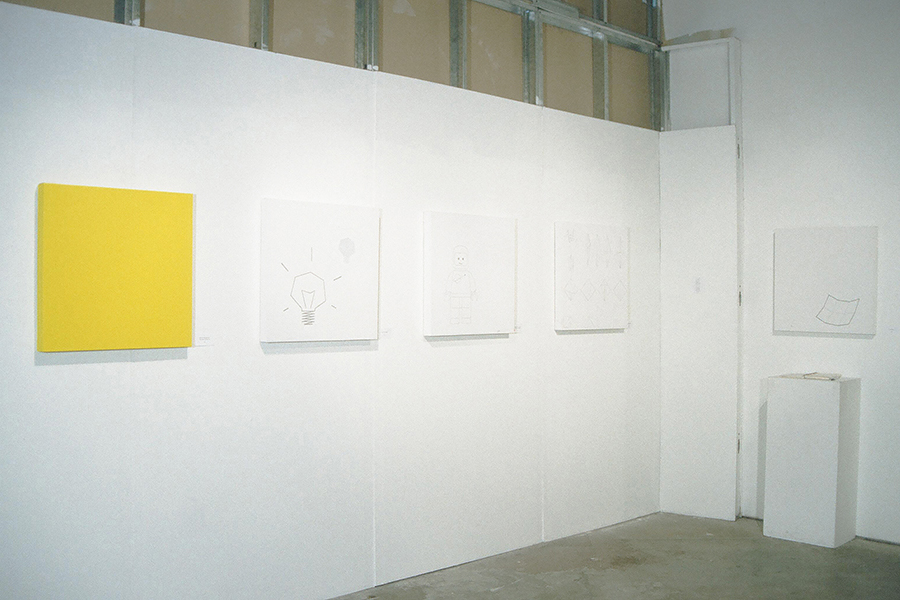 Installation view of FAITH AND DOUBT, installation by Kennedy Telford.